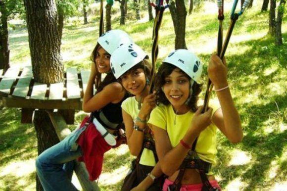 Campamento de inmersión en inglés y aventura Alto Tajo, Cuenca