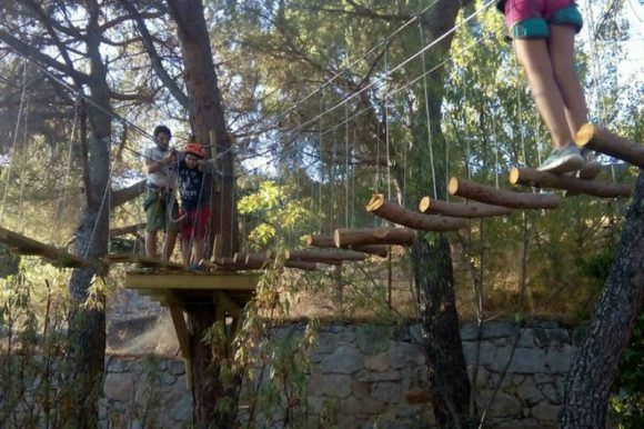 Campamento Multiaventura e Inglés en la Sierra de Madrid