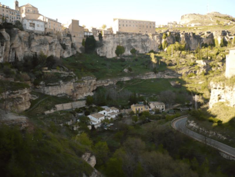 Fin de curso multiaventura en Cuenca: Paisaje
