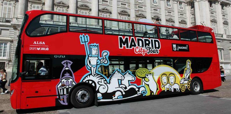 Fin de curso en Madrid: Tour en bus