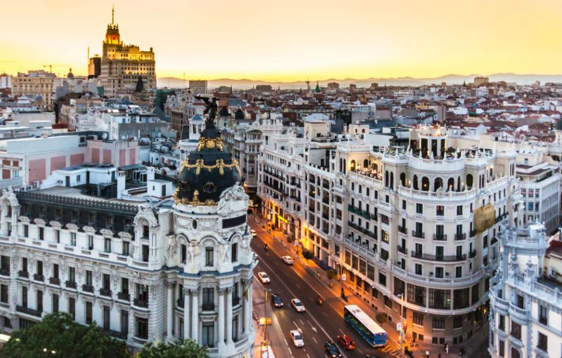Viaje escolar fin de curso en Madrid