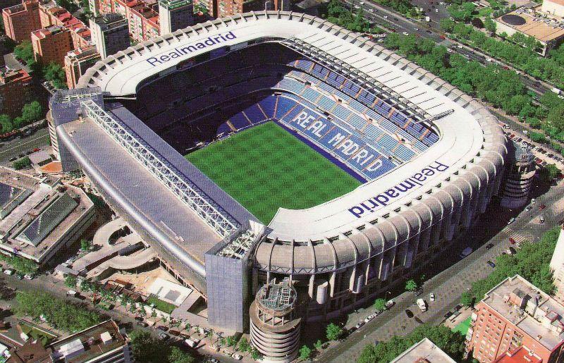 Viaje escolar fin de curso en Madrid: Santiago Bernabéu