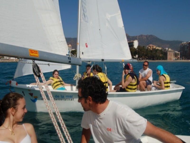 Fin de curso náutico en Salou: Vela Ligera
