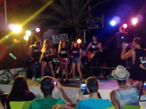 Fin de curso Náutico en Mar Menor, Murcia: Velada concierto