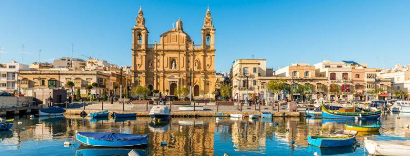 Viaje escolar a St. Julian's Malta con clases - 5 Días: Vista de la ciudad