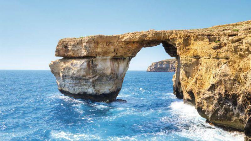 Viaje escolar a St. Julian's Malta con clases: Paradisiacas playas