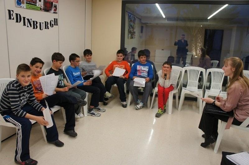 Programa de inmersión en inglés en Valencia: Clase de inglés