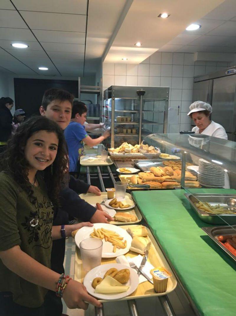 Programa inmersión inglés en Valencia: Comedor