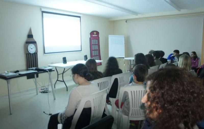 Programa inmersión en inglés en Valencia: Alumnos en clase