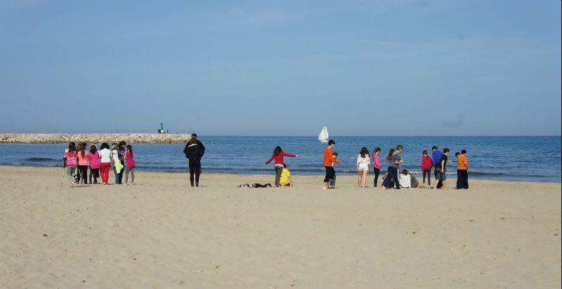 Programa inmersión en inglés en Valencia: Actividades playa