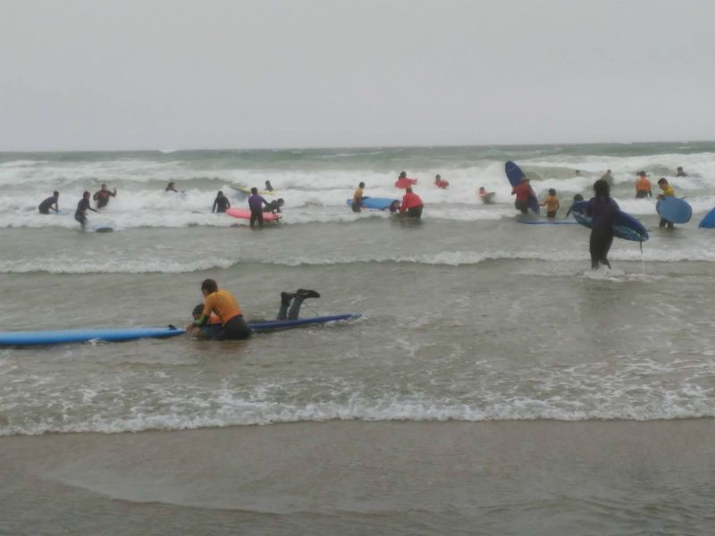 Curso de inglés en Waterford para estudiantes de 12 a 18 años: Surf