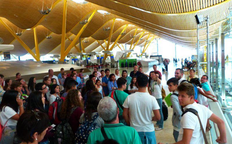 Año escolar en Irlanda: Encuentro en el aeropuerto
