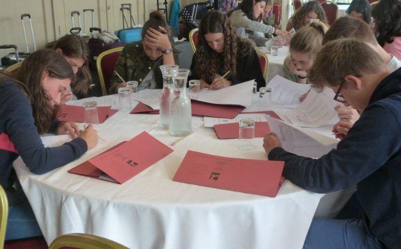 Año escolar Irlanda: Test inicial de nivel