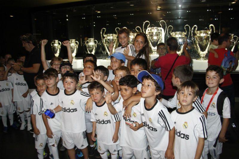 Campus Experience Fundación Real Madrid Fútbol Interno: Visita Santiago Bernabéu