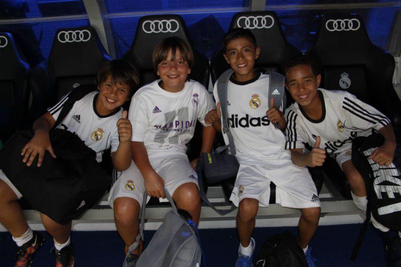 Campus Experience Fundación Real Madrid Fútbol Interno: Tour Santiago Bernabéu