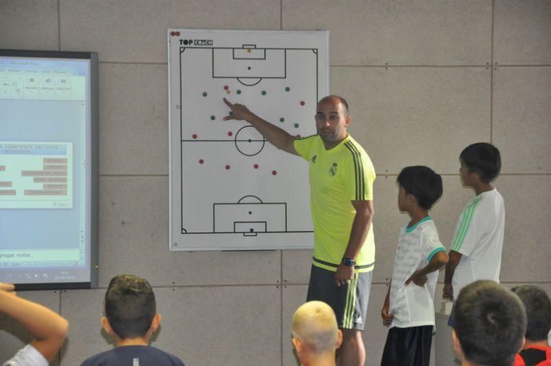 Campus Experience Fundación Real Madrid Fútbol Interno: Charlas