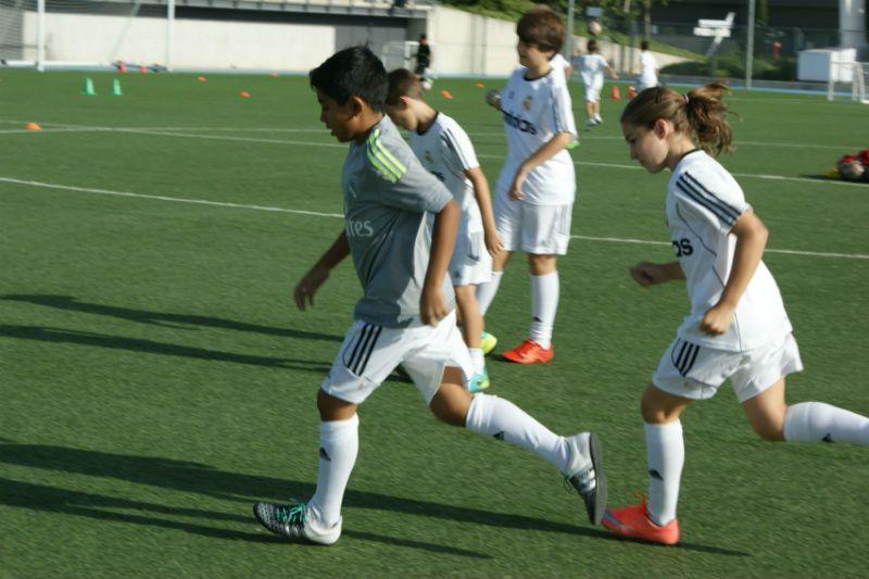 Campus Experience Fundación Real Madrid Fútbol Interno: Entrenamientos