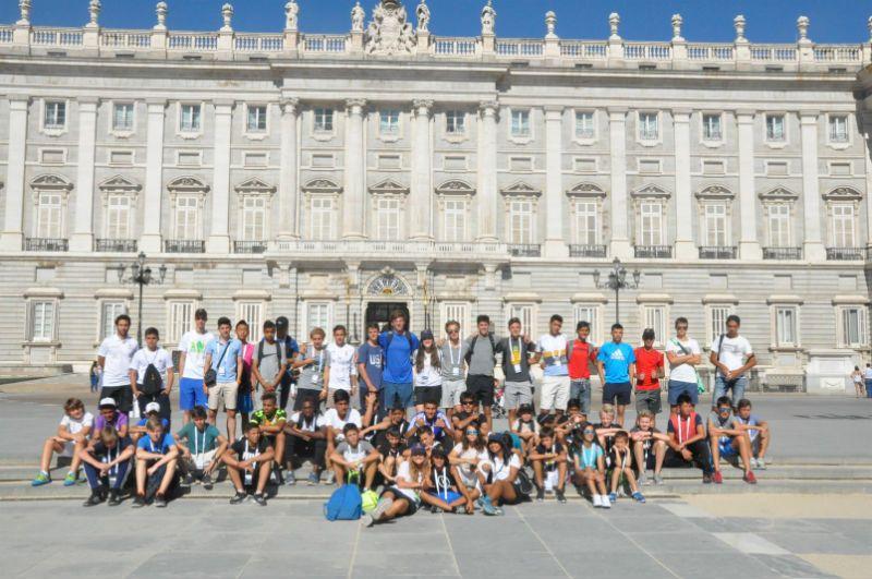 Campus Experience Fundación Real Madrid Fútbol Interno: Visita por Madrid
