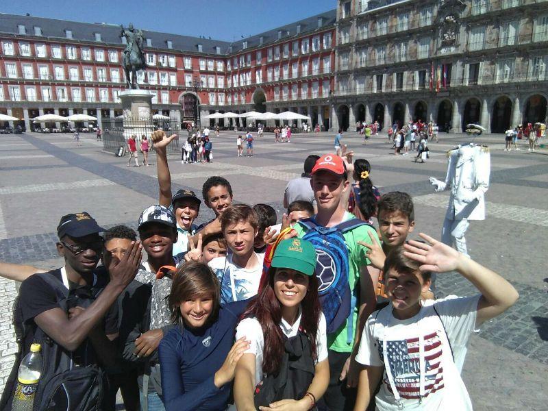 Campus Experience Fundación Real Madrid Fútbol Interno: Visitando Madrid