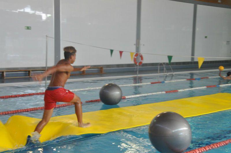 Campus Experience Fundación Real Madrid Fútbol Alto Rendimiento: Actividad en piscina