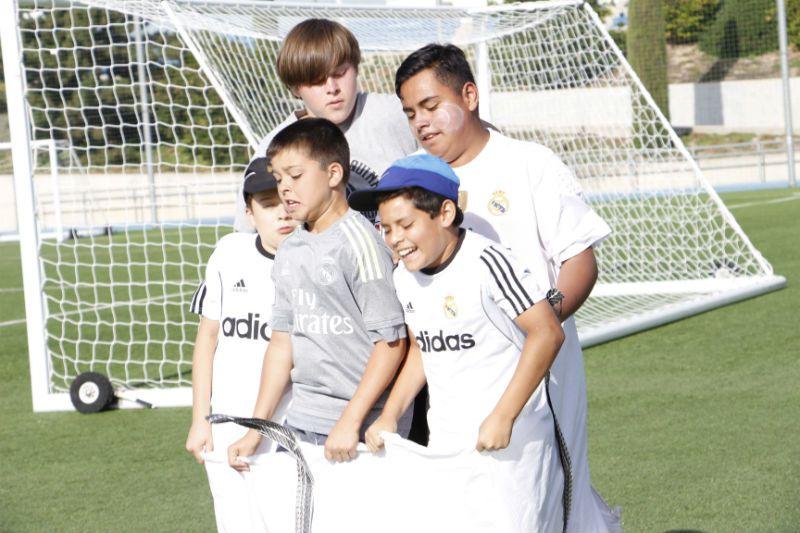 Campus Experience Fundación Real Madrid Fútbol Alto Rendimiento: Juegos