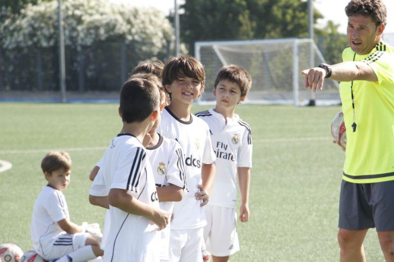 Campus Experience Fundación Real Madrid Fútbol Alto Rendimiento: Entrenamiento