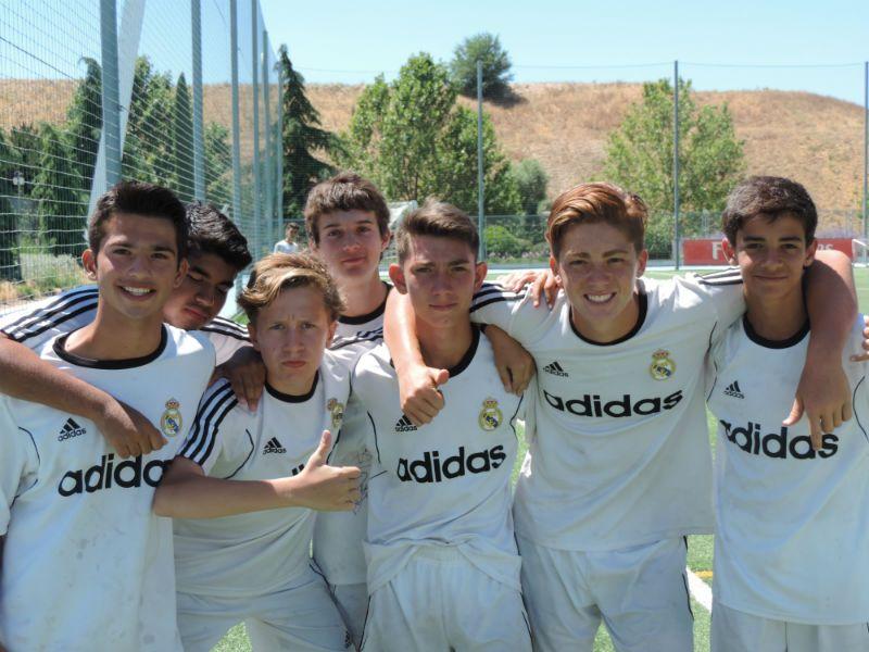 Campus Experience Fundación Real Madrid Fútbol Alto Rendimiento: Grupo