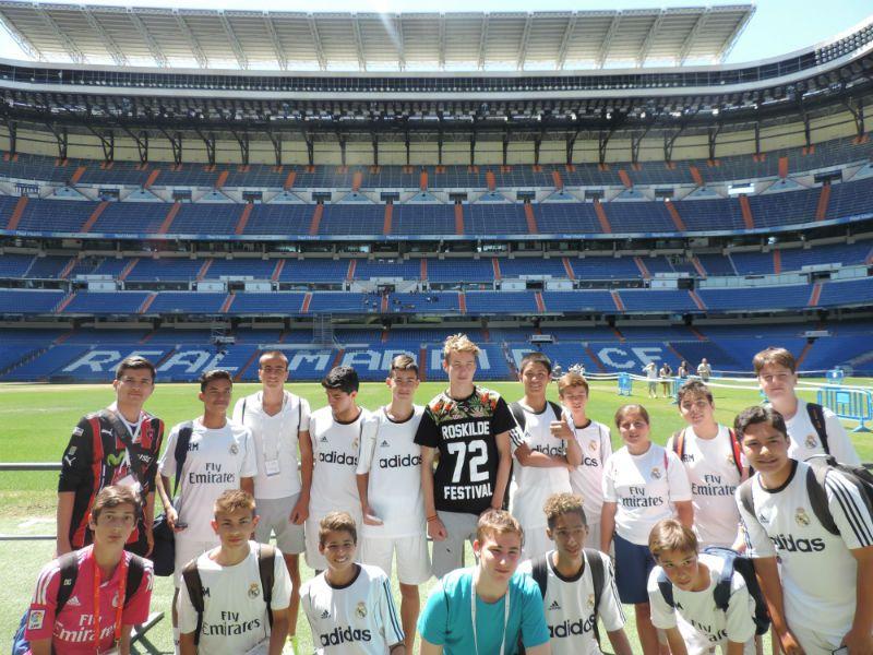 Campus Experience Fundación Real Madrid Fútbol Alto Rendimiento: Tour Santiago Bernabéu