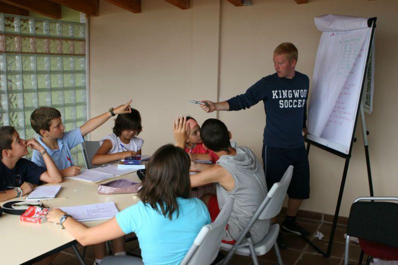 Campamento de inglés en León: Clases de inglés