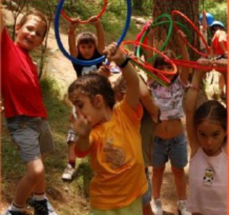 Excursión escolar a Las Dehesas de Cercedilla, Madrid: Juegos en grupo
