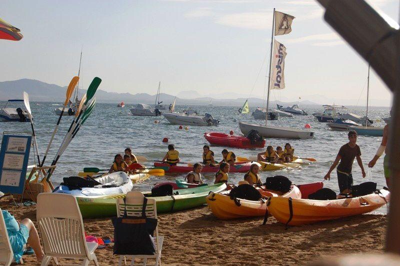 Campamento de verano náutico en Águilas, Murcia - Kayak