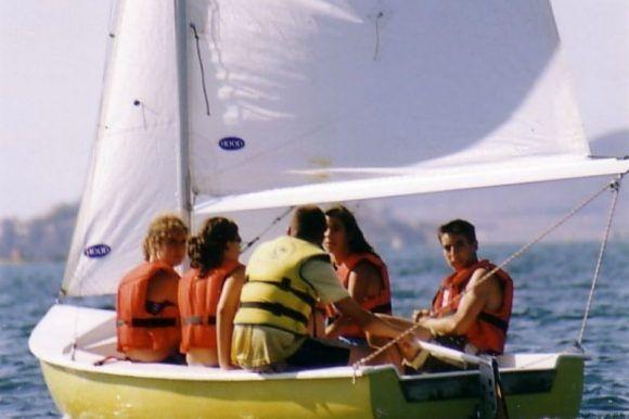 Campamento de verano náutico en Águilas, Murcia
