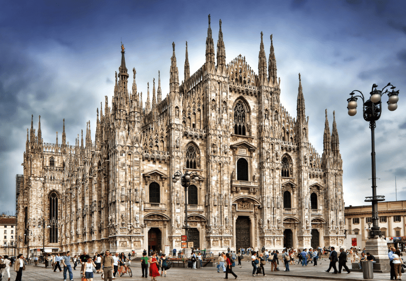 Viaje fin de curso a Italia: Catedral de Milán