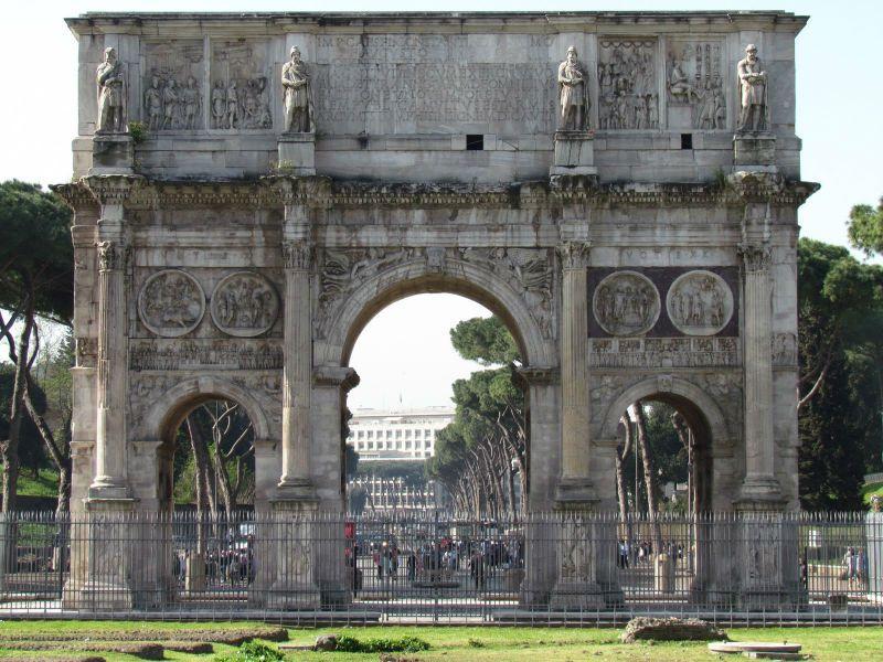Viaje fin de curso a Italia: Arco Constantino