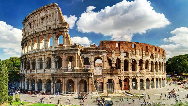 Viaje fin de curso a Italia: Coliseo Roma