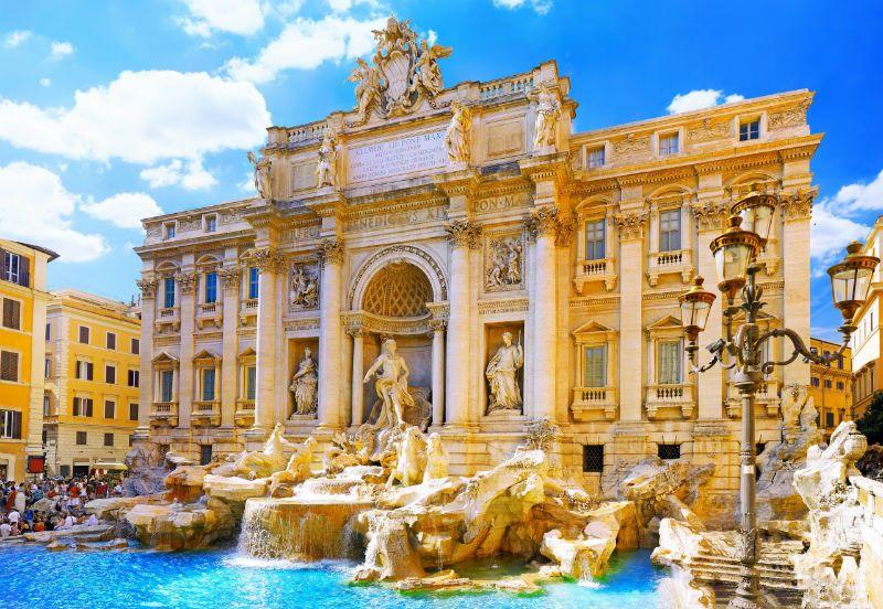 Viaje fin de curso a Italia: Fontana de Trevi