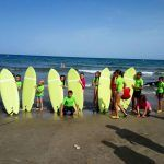 Viaje escolar fin de curso multiaventura náutica en Castellón