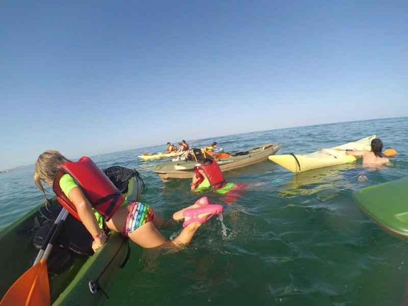 Viaje escolar fin de curso multiaventura náutica en Castellón: Kayak