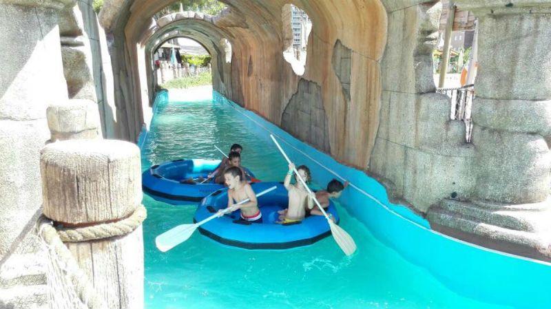 Viaje escolar fin de curso multiaventura náutica en Castellón: Parque Acuático