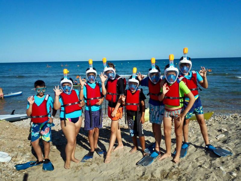 Viaje escolar fin de curso multiaventura náutica en Castellón: Snorkel