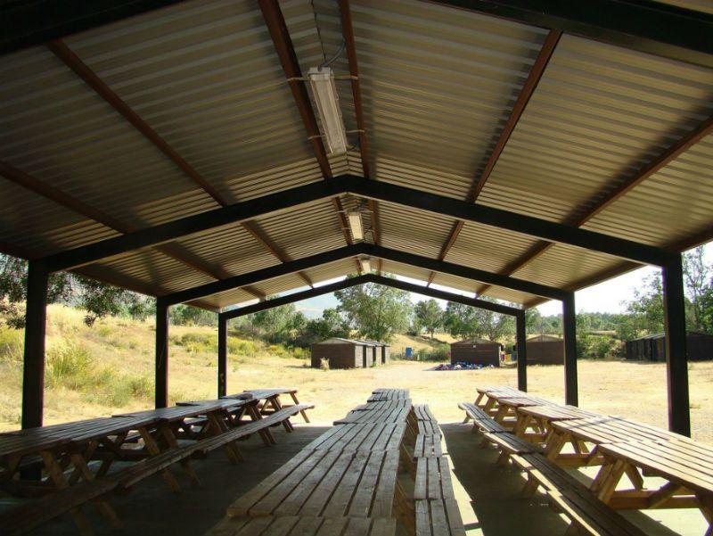 Campamento Multiaventura en Barco de Ávila: Comedor