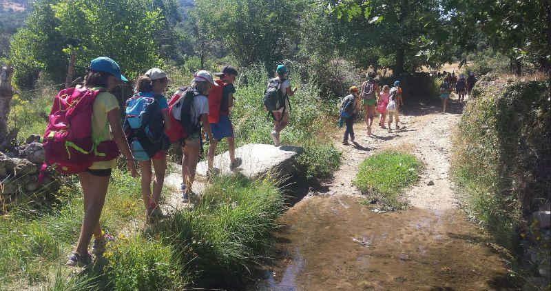 Campamento Multiaventura en Barco de Ávila: Marchas