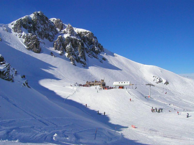 Viaje de Esquí con inglés en Cantabria: Estación de esquí