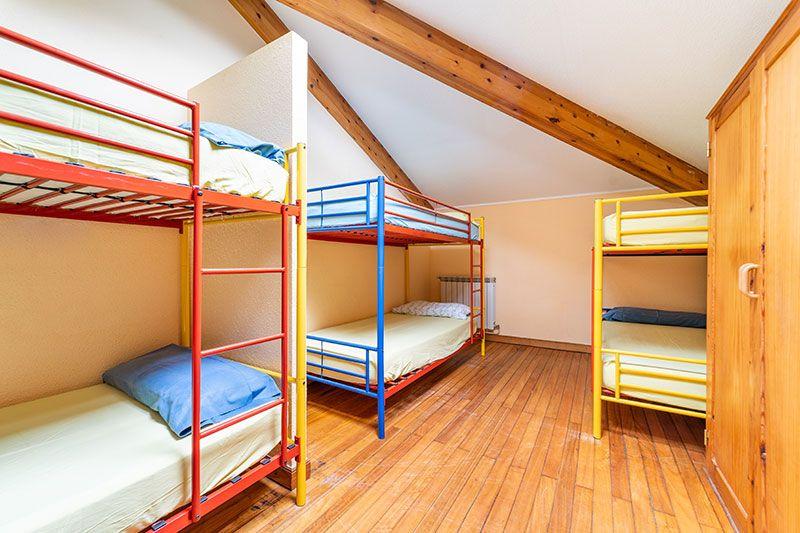 Campamento de verano Aventura en Cantabria: Dormitorio albergue