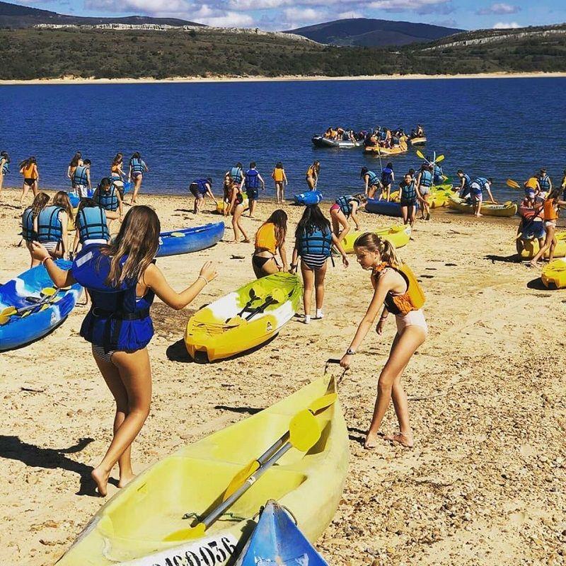 Campamento Aventura en Cantabria: Kayak