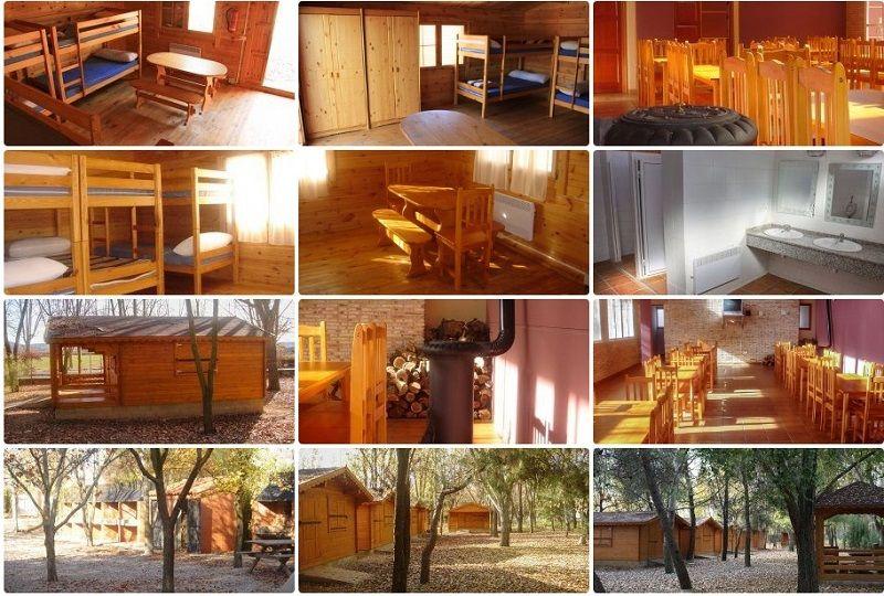 Viaje fin de curso multiaventura Hoces del Cabriel: Alojamiento cabañas