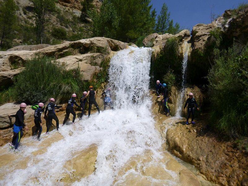 Viaje escolar multiaventura Hoces del Cabriel: Trekking