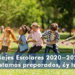 Viajes escolares 2020-2021. Estamos preparados, ¿y tú?