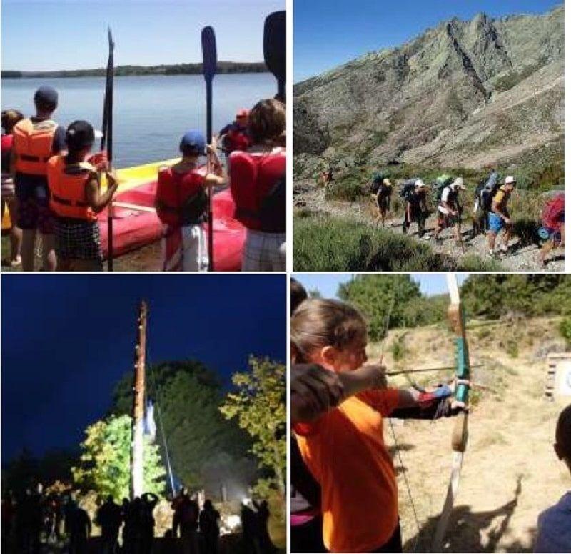 Campamento de inglés en Sierra de Gredos: Actividades