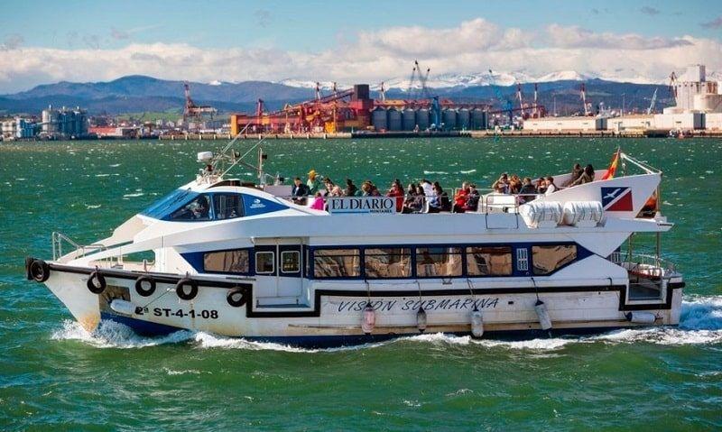 Campamento Aventura y Náutica en Santander: Excursión en barco